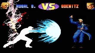 [TAS] Rugal VS Goenitz | KOF98 Aniversary Edition | Epic Battle 💀