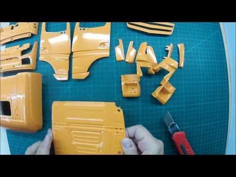 Baubericht Actros Gigaspace Sattelzugmaschine 6x6  Heute: Unboxing Teil 2