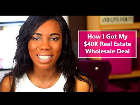 Learn How to Wholesale Houses : Make $40,000 Profit Money Flipping Houses