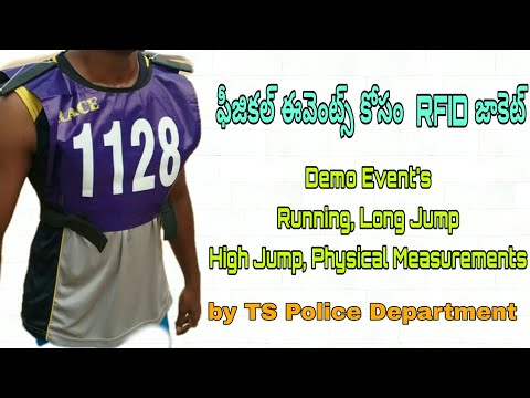TSLPRB Demo Events With RFID Technology | Physical Events With RFID Technology by TS Police Dept