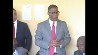 VIDEO: Haiti - Thierry Mayard Paul KONT Arnel Belizaire nan Contestation BCED - Part 1