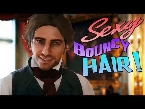 SEXY BOUNCY HAIR! Assasin's Creed Unity Stream Highlights!