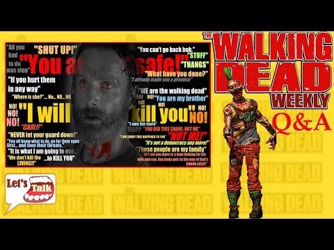 Walking Dead Q&A #17