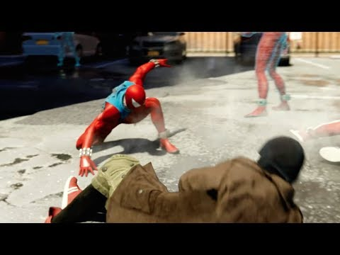 Marvel's Spider-Man (PS4) Combat Abilities Trailer