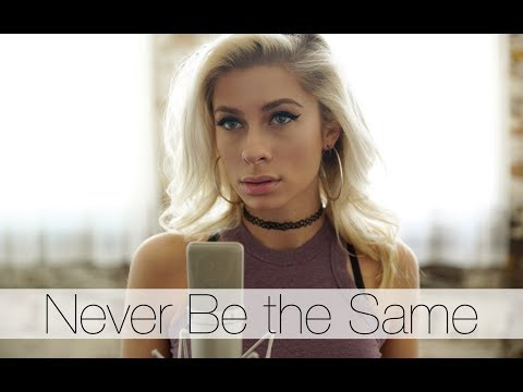 Camila Cabello - Never Be the Same (Andie Case Cover)