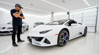 Adding a 2020 Lamborghini Huracan EVO Spyder to my Collection?!