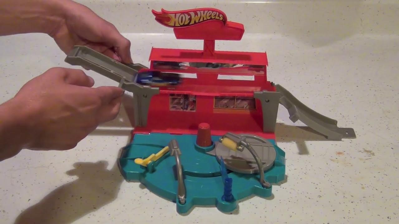 hot wheels super spin car wash playset review youtube. Black Bedroom Furniture Sets. Home Design Ideas