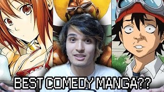 5 COMPLETELY DIFFERENT & HILARIOUS COMEDY MANGA | Monthly Otaku Collection: March 2017