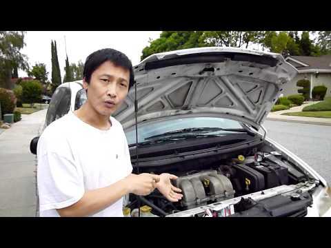 Dodge Caravan - Changing the Oil Pressure Switch (sender)