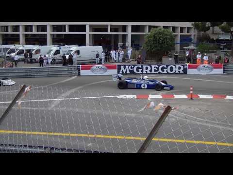 Grand Prix Historique de Monaco 2010. Tribune A1