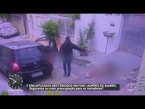 Câmeras flagram a execução de dois jovens no Rio de Janeiro | Primeiro Impacto (08/12/17)