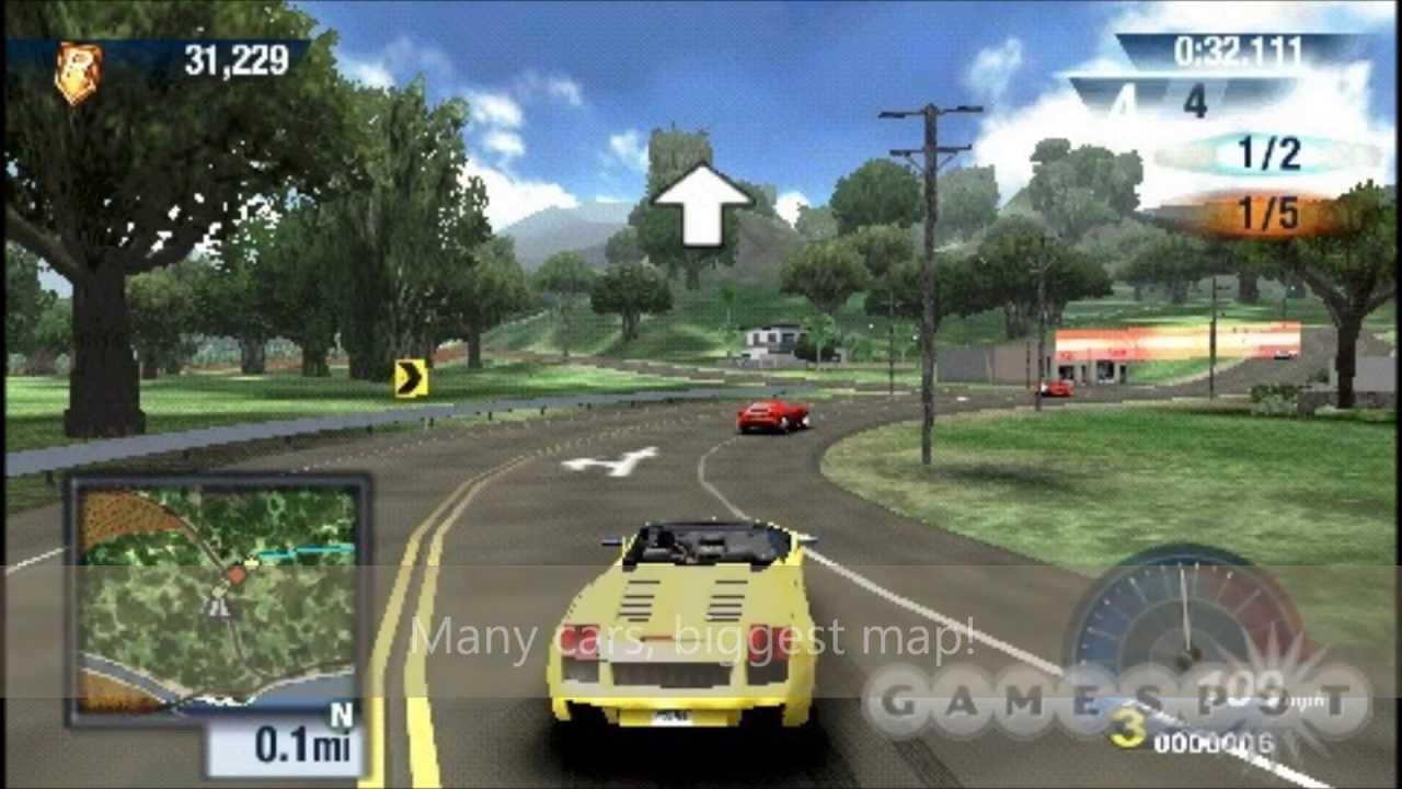 Psp Vita Car Racing Games