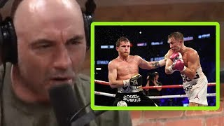 GGG/Canelo 3? - Joe Rogan and Kelly Pavlik