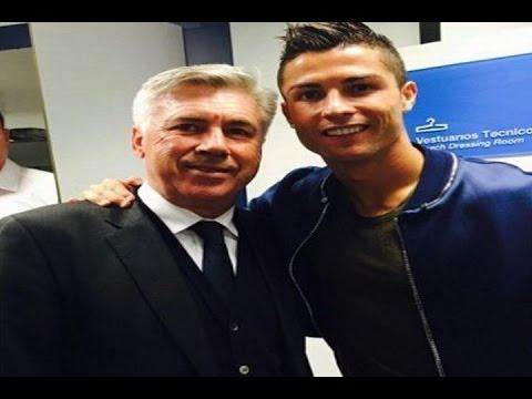 Cristiano gana el Pichichi y pide que Ancelotti siga