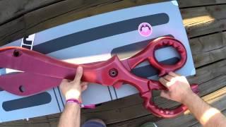 Kill la Kill Cosplay Scissor Blade and Suitcases