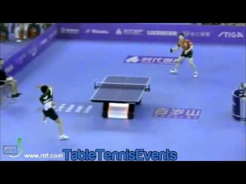 Ma Long Vs Chuang Chih-Yuan: Final [World Team Classic 2013]