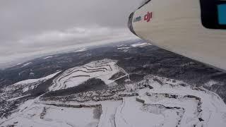 Lom Mokrá - Horákov zimní pohled