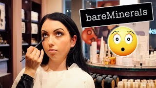 GETTING MY MAKEUP DONE AT BARE MINERALS...