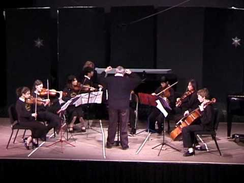 Concerto for three Violins, JS Bach, the Crowden School, 1/25/2006
