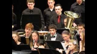 "Bethel Park High School Concert Band Performs ""Oregon Trail"""