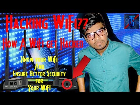 Wifi Hacking   Is It Possible to Find the Password of WiFi?   Prevent Hackers from Hacking Your WiFi