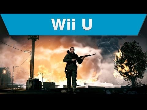 Wii U fans can sharpen their sniping skills with the release of Sniper Elite V2, the most authentic World War II sniping experience that puts players in the middle of war-torn Berlin amidst the frenzied final battle between German and Russian forces.  Like Wii U on Facebook: http://www.facebook.com/WiiU  Like Nintendo on Facebook: http://www.facebook.com/Nintendo Follow us on Twitter: http://twitter.com/NintendoAmerica Contact Us: http://www.nintendo.com/contact Newsletter: http://www.nintendo.com/consumer/newsletters/