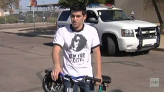 Arizona cop gives teen a life-changing ride home