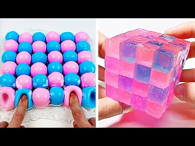 Relaxing Slime Compilation ASMR  Oddly Satisfying Video 37