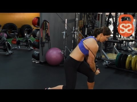 How to Do the Wood Chop Exercise | Sleek/Strong With Rachel Cosgrove