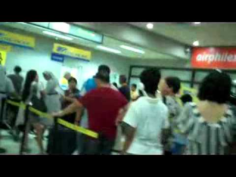 Mactan Cebu International Airport. Check-in. Trip to Gensan1.23.12