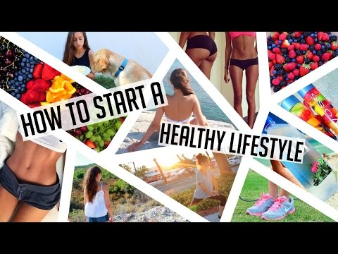 HOW TO START A HEALTHY LIFESTYLE! Get fit, stay organized, eat healthy ♥