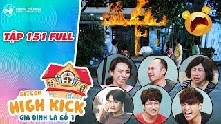 """Gia đình là số 1 sitcom   Tập 151 full:Cả nhà hoảng loạn vì """"nhà cháy"""" nhưng ông nội lại kẹt ở trong"""