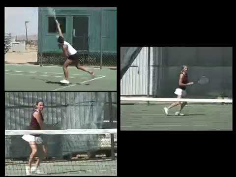 ALEXIS MARIANO: VICTOR VALLEY COLLEGE TENNIS ACE