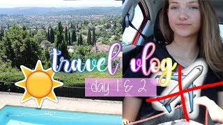 FLUG GESTRICHEN - Hinflug, POOL & USA Updates 🌞🇫🇷 Nizza travel vlog