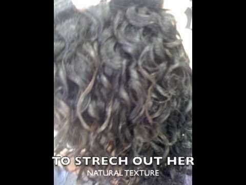 A Curly Perm For Natural Textured Hair Youtube