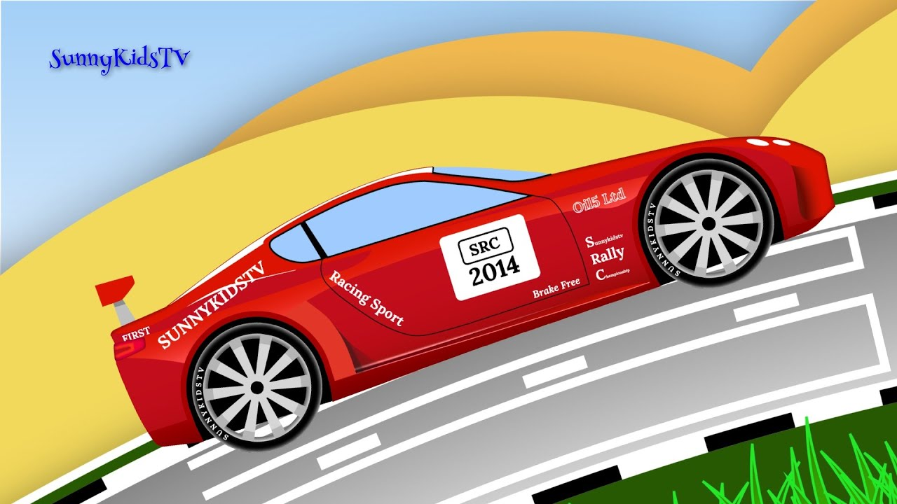 Kids Cartoon Race Cars