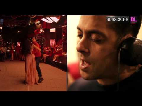 Kick song Hangover making: Here's how Salman Khan got ready for his singing debut