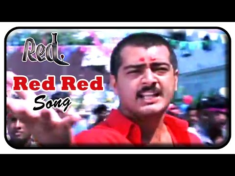 Red Tamil Movie  Songs  Red Red  Song  Ajith Kumar  Priya Gill  Deva