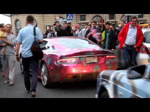 Gumball 3000 in Warsaw ! Tony Hawk !