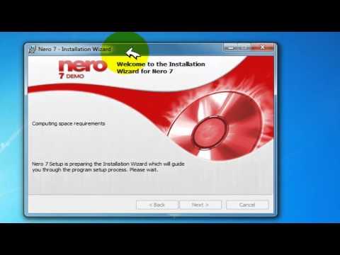 Como Descargar, Instalar Y Activar Nero 7