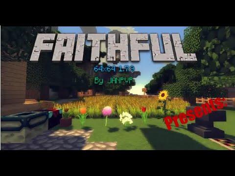 Minecraft Faithful 64x64 1.7.10 / 1.7.9 / 1.7.4 / 1.7.2 Resourcepack (Texturepac
