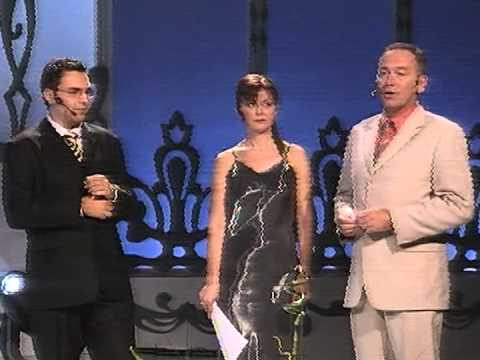 Mirko Midheta i Dejan u programu @ Miss BiH 2004