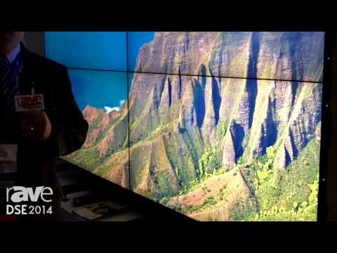 DSE 2014: NEC Display Solutions Exhibits X554UN Ultra-Thin Bezel Videowall Display