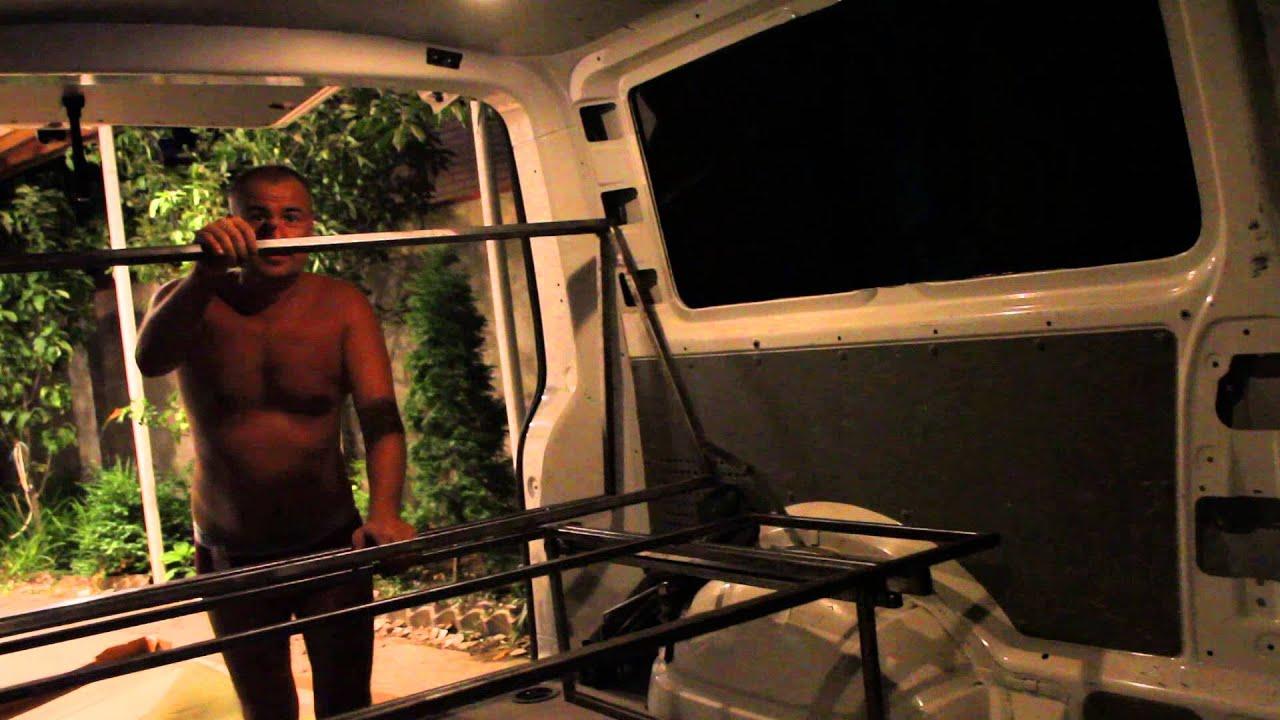 Диван раскладной в микроавтобус своими руками