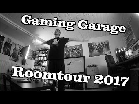 Roomtour 2017 - Die Gaming Garage // Finchis Welt