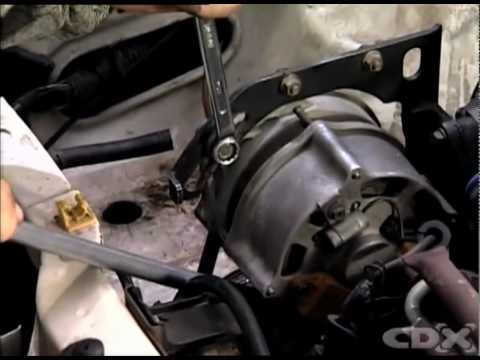 Checking & Adjusting a Drive Belt