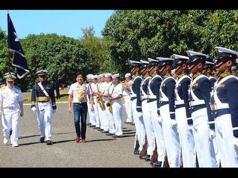 PMMA Philippine Merchant Marine Academy Senator Marcos Jr. Speech