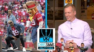 Chris and Ahmed look at pictures from NFL Divisional Round | Chris Simms Unbuttoned | NBC Sports