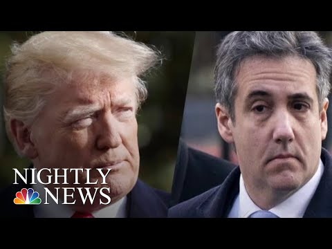 Explosive New Report Claims Trump Personally Instructed Cohen To Lie To Congress | NBC Nightly News