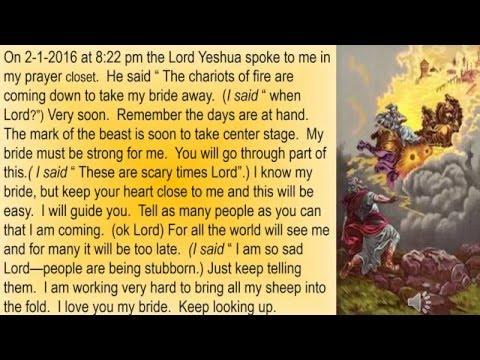 Bride Of Christ -Rapture Message